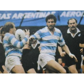 Argentina Vintage Rugby Polo 1980s