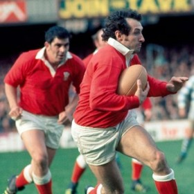 Wales Vintage Rugby Polo 1970s
