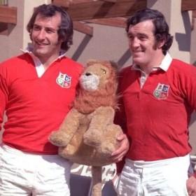 British & Irish Lions 1970s Retro Rugby Shirt