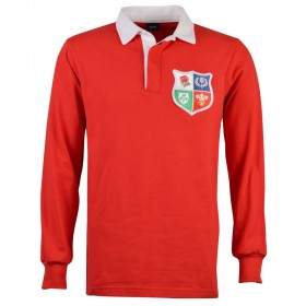 British & Irish Lions 1970s Retro Rugby Shirt