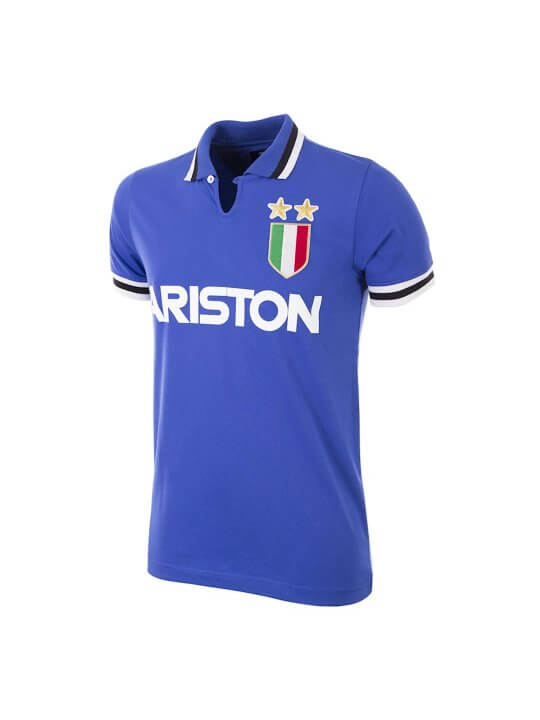 Juventus away 1983 football shirt