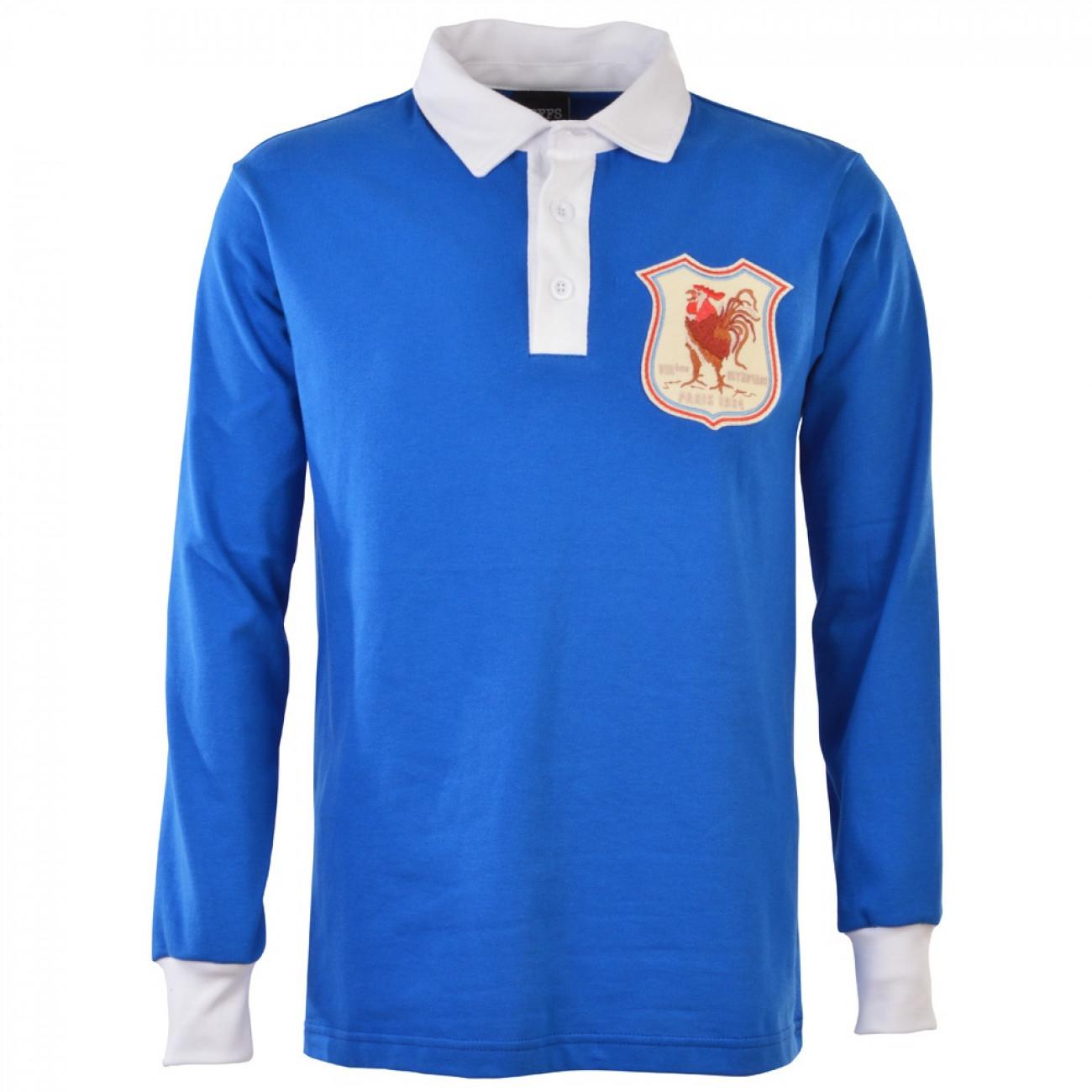 France 1924 vintage rugby shirt